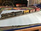 Louis Marx  Co 897 Steam Freight Set Engine Tender 3 cars