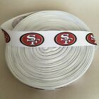 78 San Francisco 49ers Basic Grosgrain Ribbon By The Yard Usa Seller