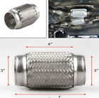 Stainless Steel Double Braid Flex Couplers Exhaust Pipe for Car Isolate Engine