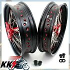 XR650L 93-15 HONDA 3.5*17/4.25*17 OEM SIZE SUPERMOTO MOTARD CNC WHEEL RIMS SET