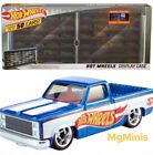 Hot Wheels display case 50 years With Exclsuive Chevy 83 Silverado 164