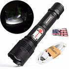 SKYWOLFEYE L2 LED USB Cable 3Modes Telescopic Focusing Zoom lashlight US