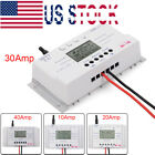 10 20 30 40 Amp Solar Charge Controller MPPT 12 24V Three time Timer with USB US