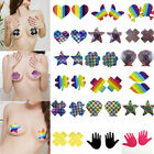 Sexy Heart Star Pasties Adhesive Nipple Cover Sticker Bra Patch Disposable