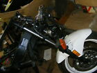 1990 HONDA VTR250 FRAME WHEELS FRONT END MORE ROLLING CHASSS 7K MILES EXC COND