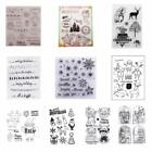 Clear Christmas Stamp Transparent Scrapbooking Paper Card Making Party DIY