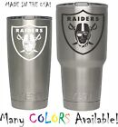 Oakland Raiders Football Decal for NFL YETI Tumbler 20 30 Ozark RTIC Sticker