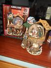 Kirkland Christmas Lighted Water Globe Musical Go Round Nativity MIB Retired
