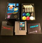 Stack-Up (Nintendo Entertainment System, 1985) Complete Nes Authentic Black Box