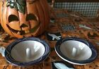SET OF 2 POTTERY THE ORIGINAL APPLE BAKERS PAARIS MAINE