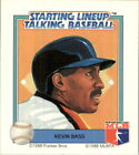 1988 Starting Lineup Astros Baseball Card #4 Kevin Bass