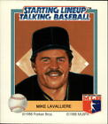 1988 (PIRATES) Starting Lineup Pirates #13 Mike LaValliere