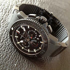 Ulysee Nardin XL Maxi Marine Diver Chronograph Black Sea Date BIG BANG TOP NOS