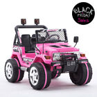 12V Battery Kids Ride on Cars Toy Power Remote Control USB 12V Electric Pink