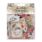 Tim Holtz EPHEMERA PACK Christmas Snippets Idea ology