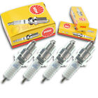 4pcs 02-03 KYMCO Yup 50 NGK Standard Spark Plugs 49cc 2ci Kit Set Engine za