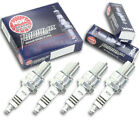 4pcs Moto Guzzi V65NTX NGK Iridium IX Spark Plugs 650 Kit Set Engine zq