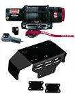 Warn Pro Vantage 4500-S Sythentic Rope Winch & KFI Mount - Honda Pioneer SXS 500