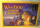 What God Wants for Christmas Childs Interactive Nativity FamilyLife Publishing