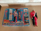 Vintage 1976 Mattel Pulsar Man Of Adventure And Life Systems Center Play Set