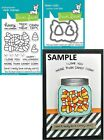 Lawn Fawn HOW YOU BEAN CANDY CORN ADD ON Clear Stamps  Lawn Cuts Die Set
