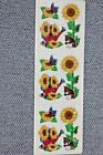 Vintage Sandy Lion Sunflowers Stickers 1 Sheet Sealed Package