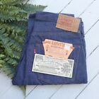 Vintage 1982 LEVIs Redline Original 501 Blue Denim Pants Size 35x33 NEW