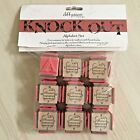 KNOCKOUT GRUNGE ART Alphabet Set RUBBER STAMPS UpperCase Letters + Numbers NEW