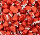 Hersheys Kisses Candy Milk Chocolate candy in Red Foil Bulk Pack