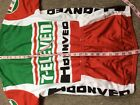 New NWT Limited Edition 711 7 Eleven Cycling Jersey Descente S M