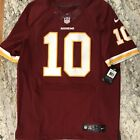 AUTHENTIC RARE Robert GRIFFIN III REDSKINS Nike Elite MAROON Jersey-SIZE 44 $295