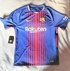 Philipe Coutinho Autographed Barcelona Soccer Large Size Jersey