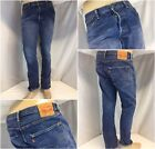 Levis 501 Jeans 36x32 Dark Button Fly Made Mexico No Flaws YGI J8 263