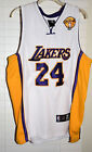 Kobe Bryant Authentic Los Angeles Lakers Finals 2010 Adidas Jersey #24 Size 48
