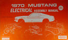 1970 Ford Mustang Electrical Assembly Manual Wiring Diagrams Grande Mach I Boss