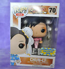 Funko Pop! Asia Street Fighter PINK CHUN LI #70 Convention Exclusive 2016 BOX #1