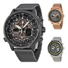 Citizen Navihawk A-T Eco-Drive Chronograph Men's Watch - Choose color