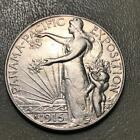 1915 S PANAMA PACIFIC 50c TOUGHER EARLY COMMEMORATIVE 8517