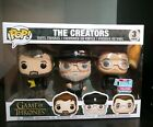 Funko Pop Game of Thrones The Creators 3-Pack NYCC 2018 Shared Exclusive