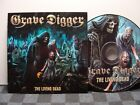 GRAVE DIGGER .THE LIVING DEAD .CD. 2018 .