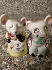 Vintage Mouse Salt and Pepper Shakers Japan