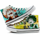 Anime My Hero Academia Canvas Casual Sneakers Shoes Unisex Cosplay Lolita0955