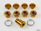 Token Chainring Crank Bolt Screws Campy Campagnolo Road Bike Gold