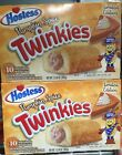 2 Boxes - NEW Hostess Limited Edition Pumpkin Spice Twinkies 10 Count