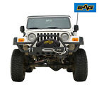 EAG 87 06 Jeep Wrangler YJ TJ Front Bumper With Winch Plate Tubular Textured