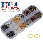 4 8mm 1380pcs DIY Jewelry Making Hooks for Necklace Bracelet Chain