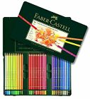 Faber Castell Polychromos Colored Pencils Set 12 24 36 60 72 120 Wood Case
