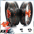3.5*17&5.0*17 KTM625SMC 640LC4 660SMC CUSH DRIVE SUPERMOTO MOTARD WHEEL RIM SET
