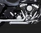 Vance  Hines Dresser Duals Headers for 2009 16 Harley Touring Chrome 16752