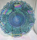 Vintage Carnival Glass Shallow Bowl